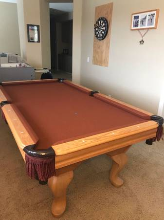 Solo 174 Riverside 7 Custom World Of Leisure Pool Table 38