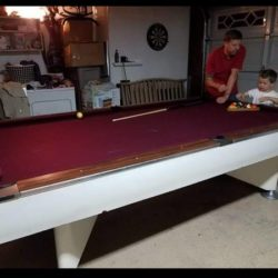 Dismantled Pool Table