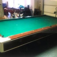 Brunswick Centurion 9' Pool Table And Accessories