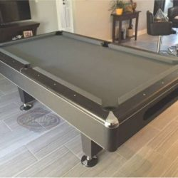 Gorgeous Modern Slate Pool Table