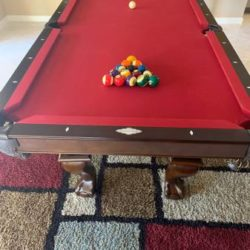 8ft Brunswick Slate Pool Table (SOLD)