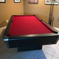 8 ft. Pool Table with Accessories